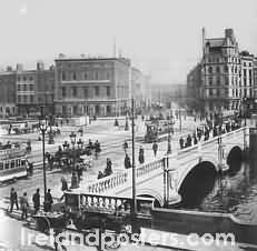Early 20th Century Dublin Ireland 1910 photo