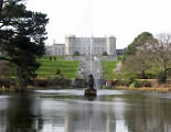 Powerscourt House & fountain